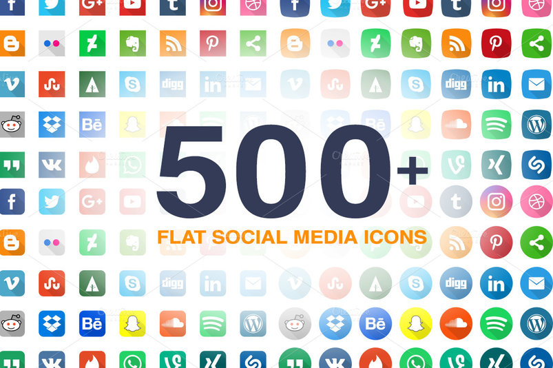 560-flat-social-media-icons-pack-2