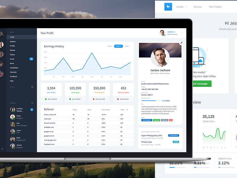 dashboard-ui-templates