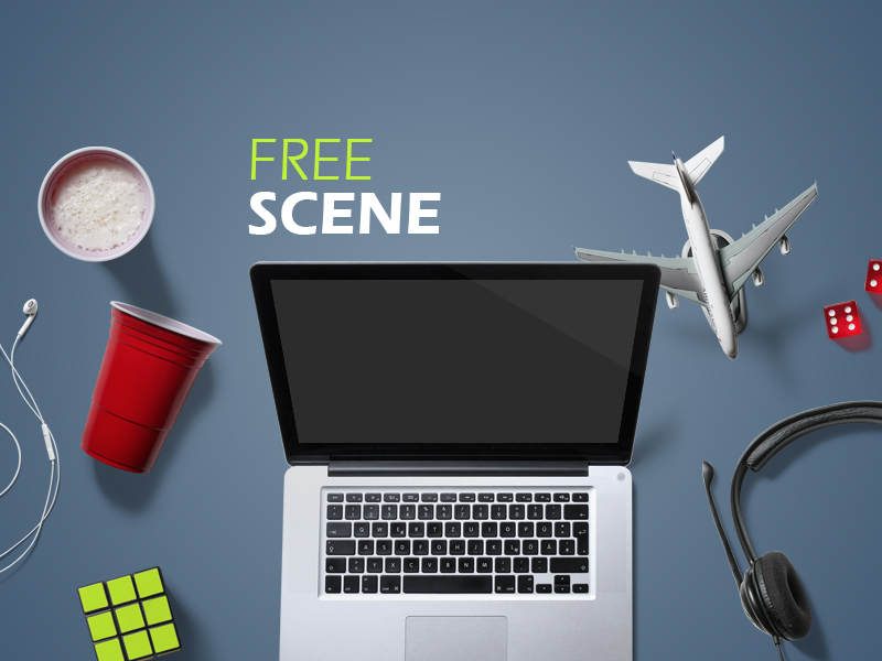free-entertainment-mockup-scene