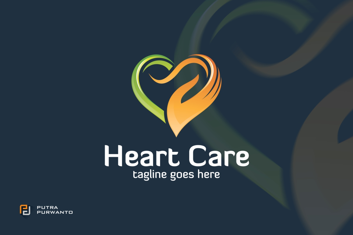 heart-care-logo-template