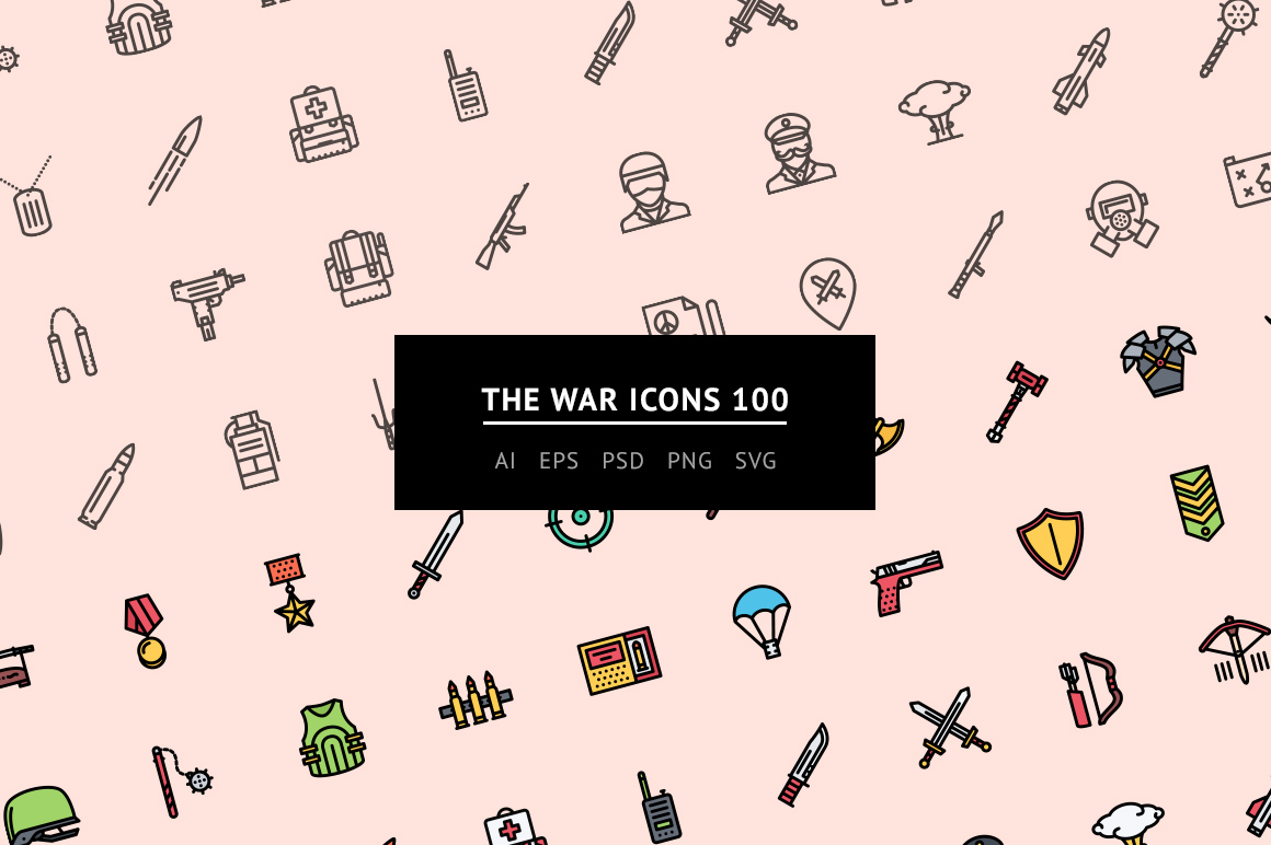 the-war-icons