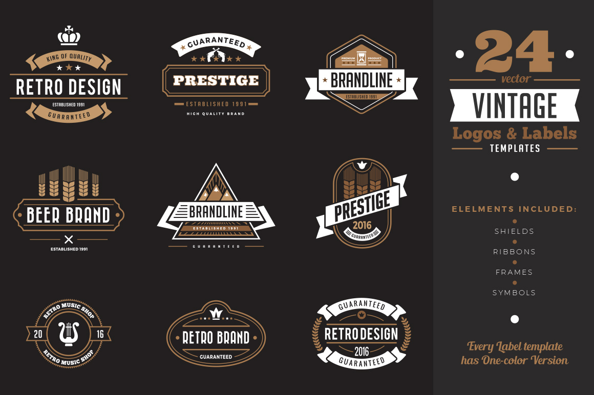 vintage-labels-badges-logo-templates