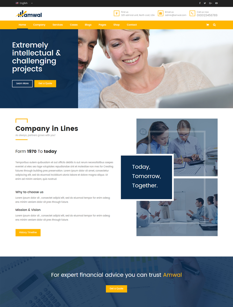 amwal-business-financial-html5-template-2
