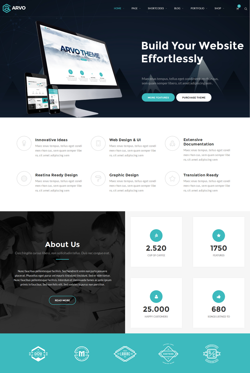 arvo-a-clever-flexible-multipurpose-wordpress-theme-2