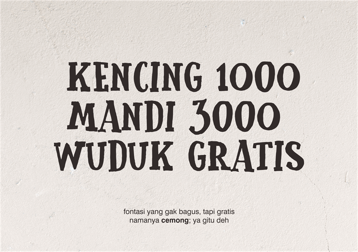 cemong-font