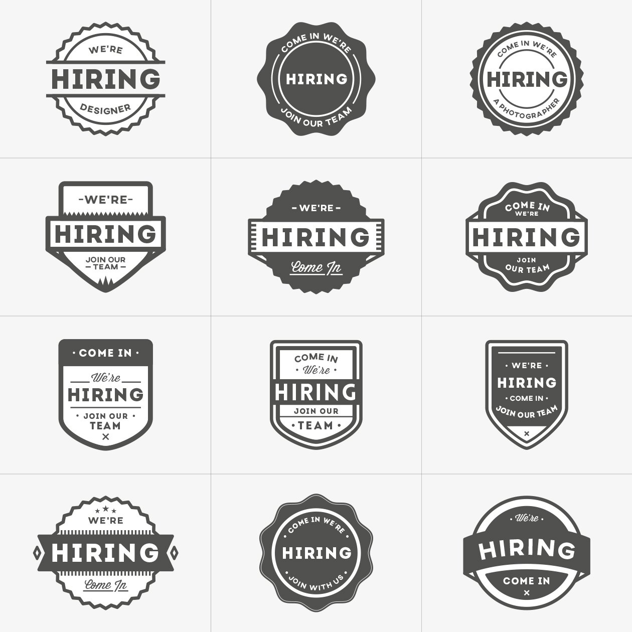 hiring-vector-badges