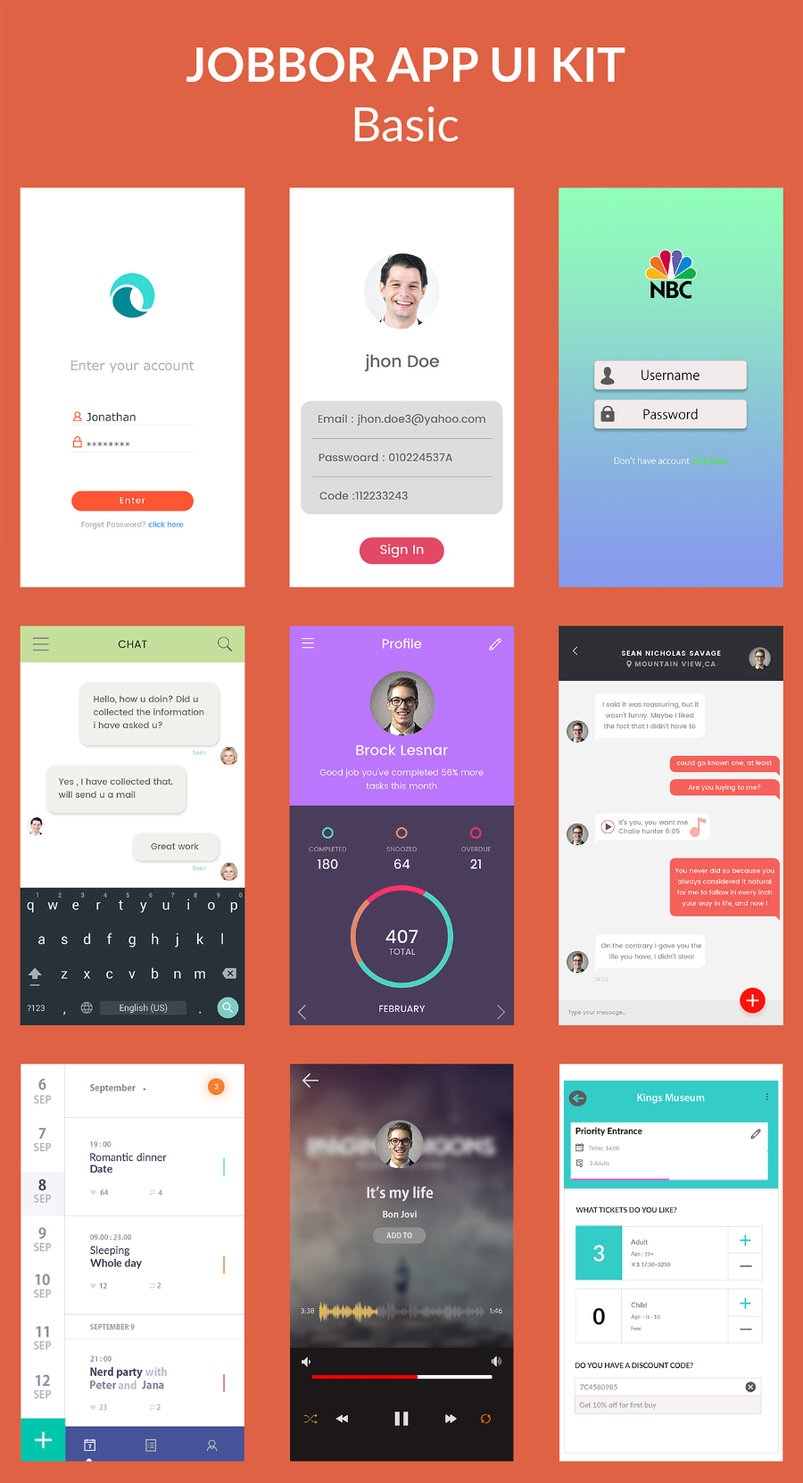 jobbor-basic-free-app-ui-kit-2