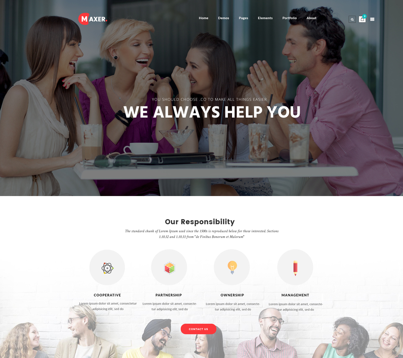 maxer-creative-multipurpose-business-corporate-psd-template-2