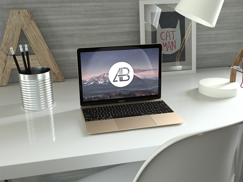 realistic-gold-12-inch-macbook-mockup-2