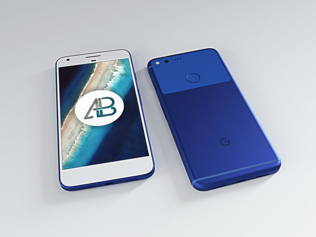 realistic-really-blue-google-pixel-xl-mockup