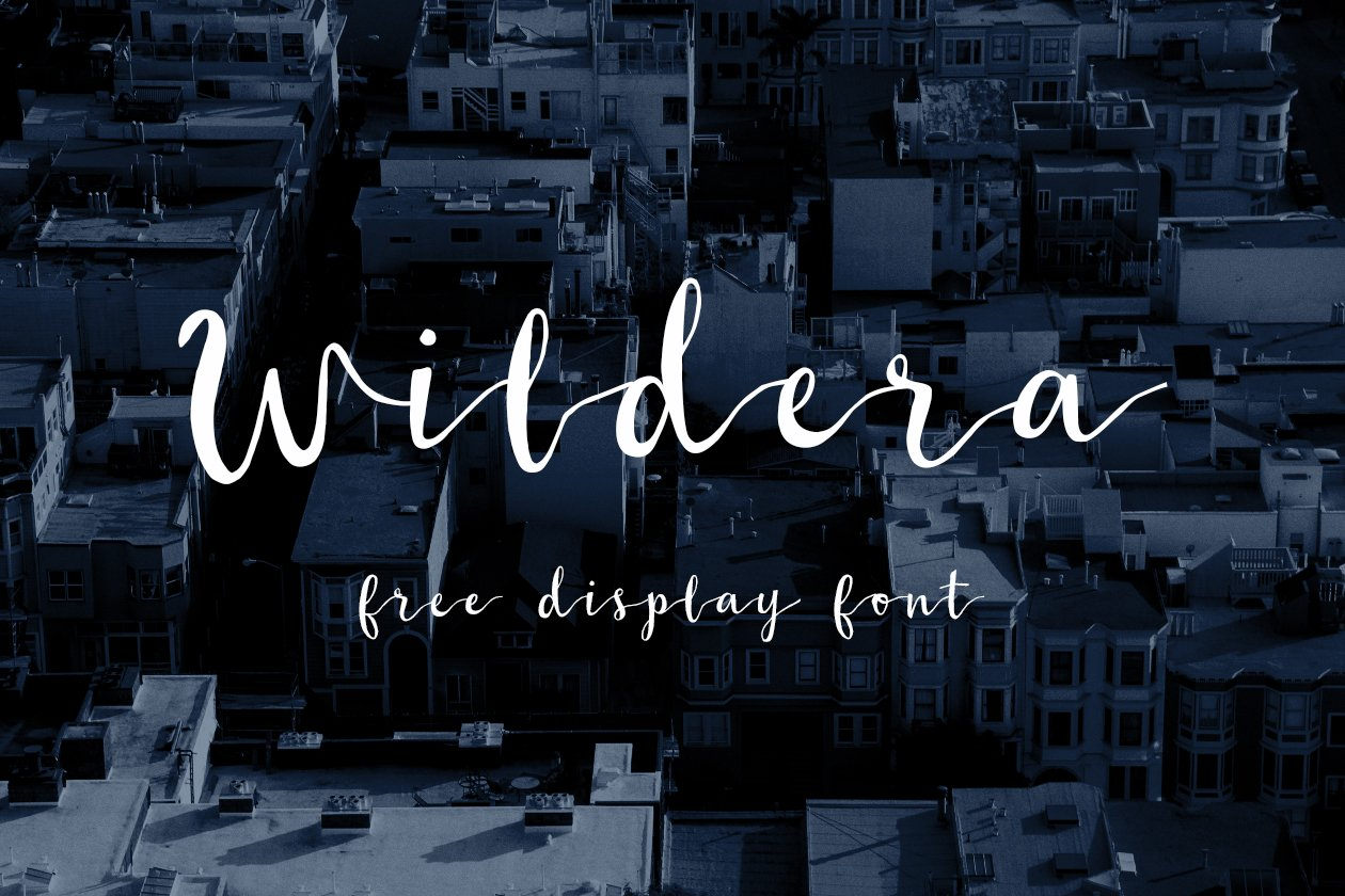 wildera-display-font