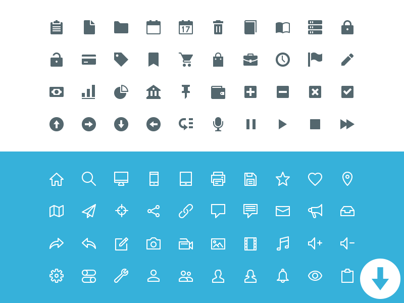 100-essential-icons-pixelicons-free-pack
