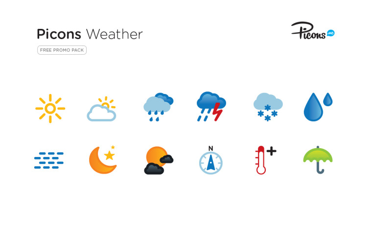 12-picons-weather-icons