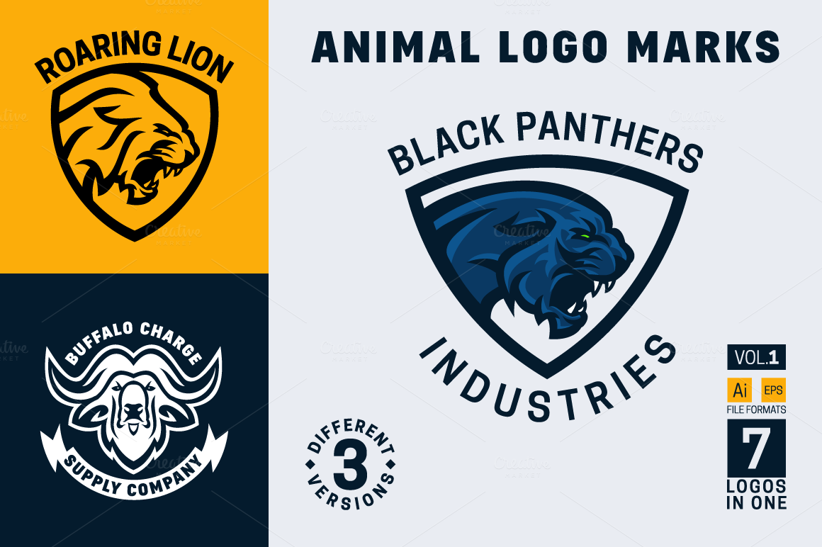 animal-logo-marks-vol-1