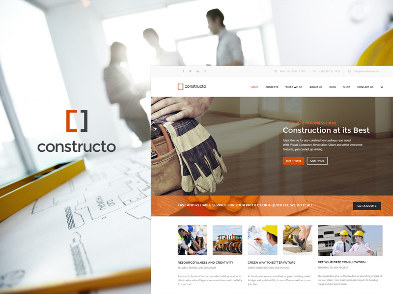 constructo-free-html-template
