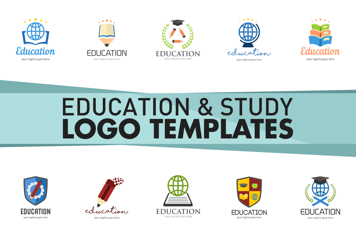 education-and-study-logo-templates
