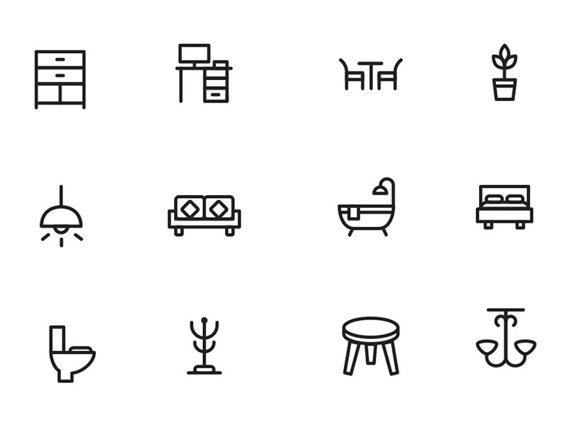 home-decor-and-furniture-icons