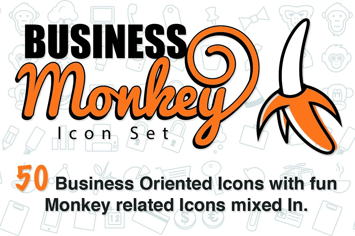 the-business-monkey-icon-set