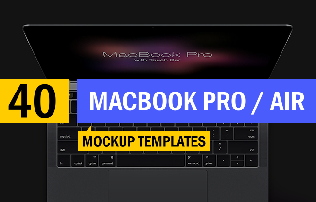 40 best apple macbook pro air mockup templates designazure toneelgroepblik Gallery