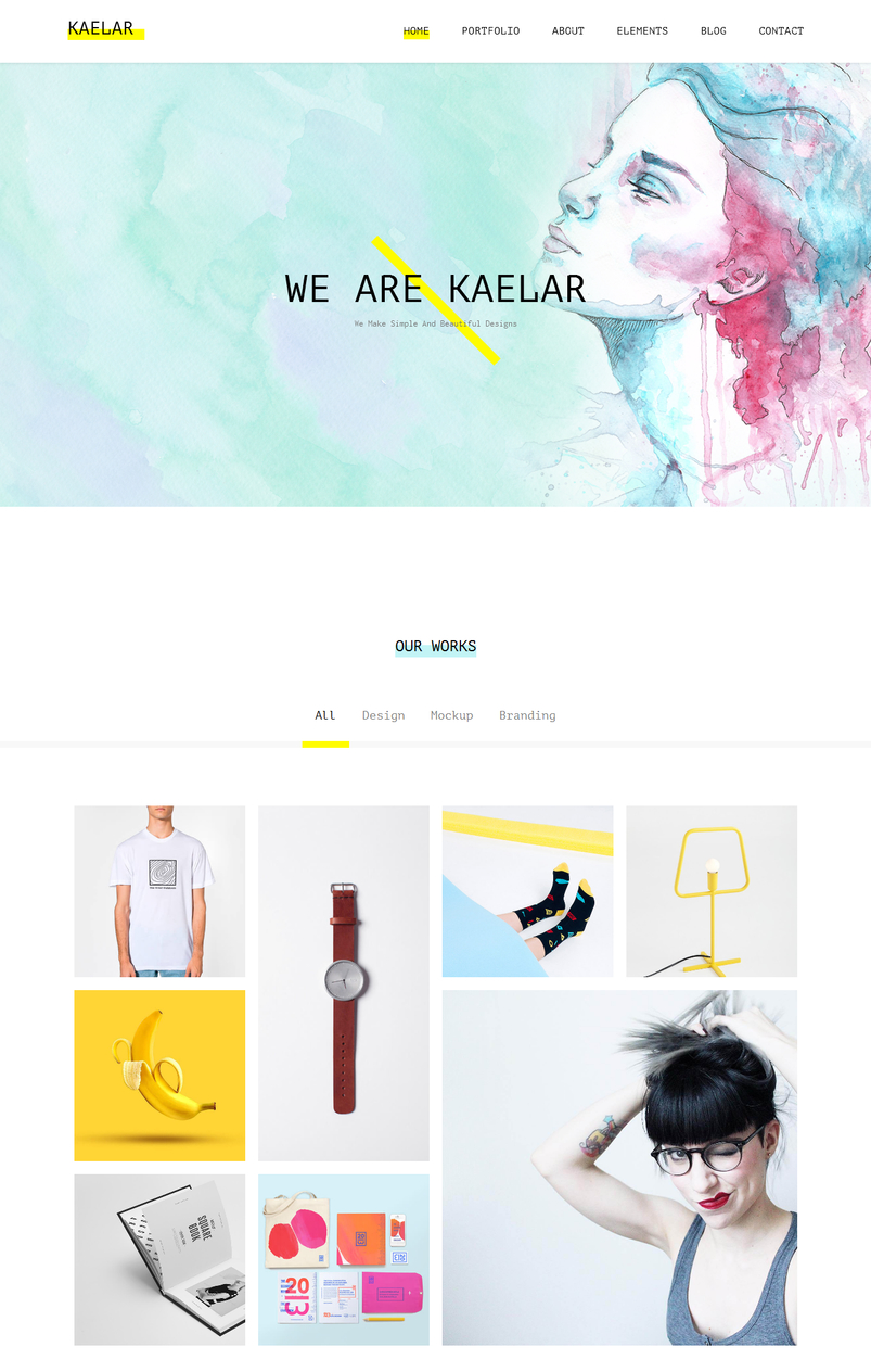 kaelar-watercolor-html5-template-2