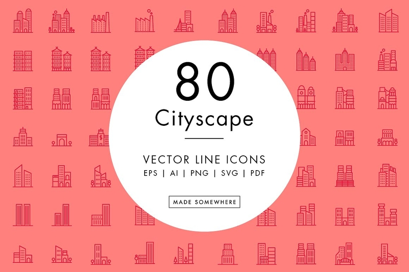 line-icons-cityscapes-2