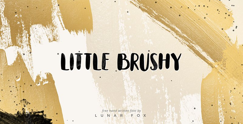 little-brushy-free-hand-painted-font-2