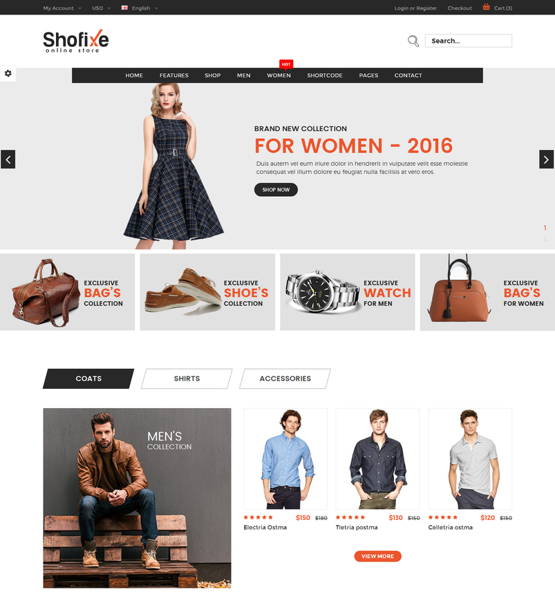shofixe-ecommerce-fashion-template-2