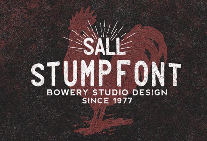 stump-typeface
