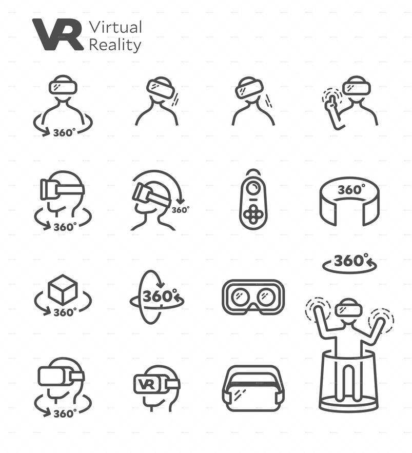 vr-virtual-reality-vector-line-icon-set-2