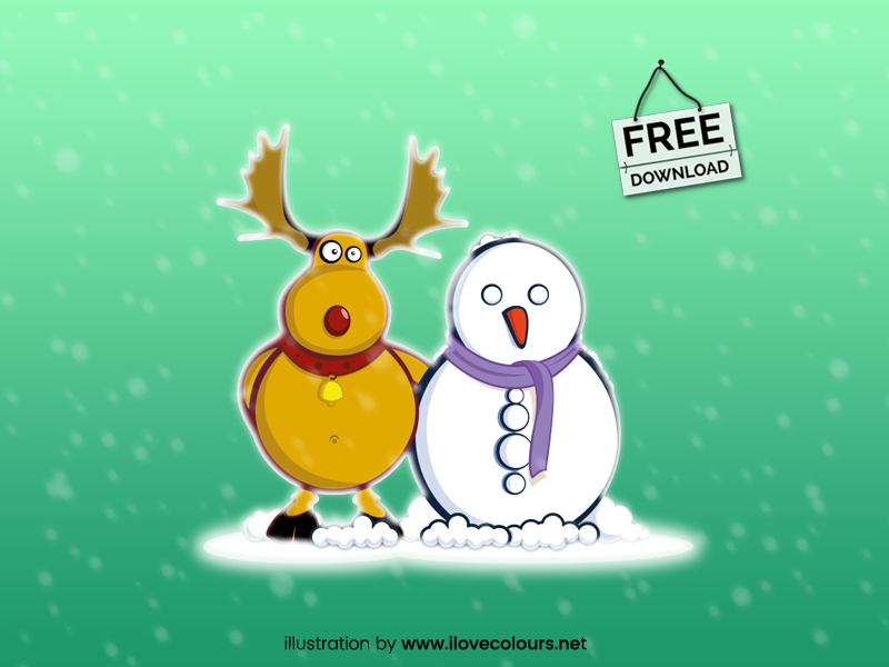 christmas-illustration-snowman-vector-graphic-free-download