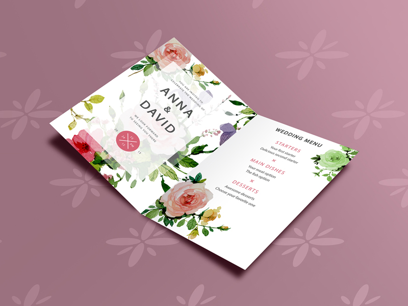 40 best greeting invitation card mockups for graphic designers free classic invitation card mockup stopboris Images