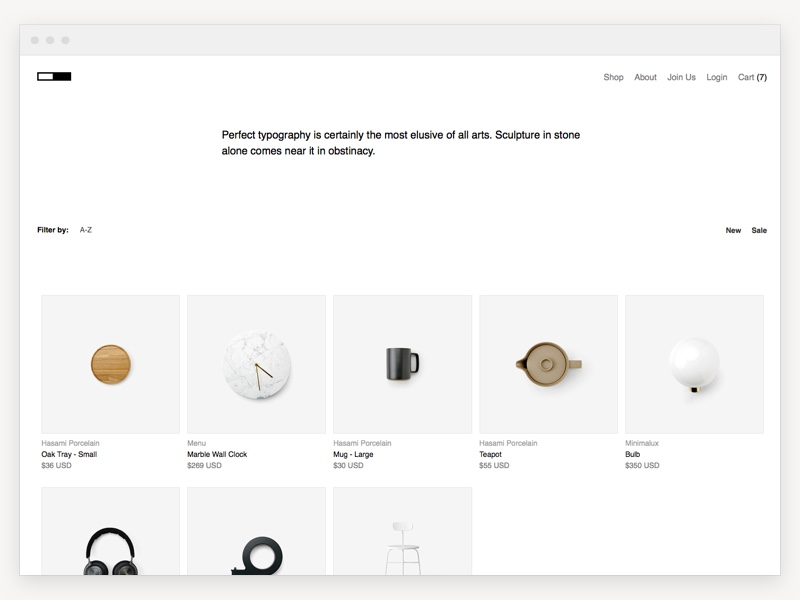 free-minimal-html-e-commerce-template