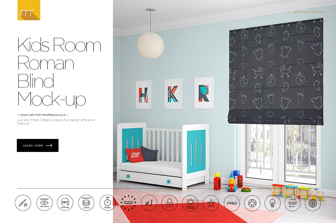 kids-room-roman-blind-mock-up