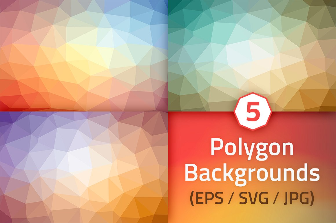polygon-backgrounds-summer-colors