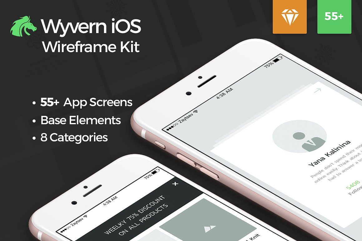wyvern-ios-wireframe-ui-kit