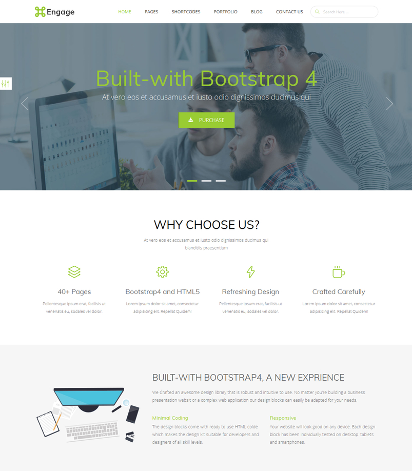 Latest html5 website templates 11 for Free bootstrap templates 2016
