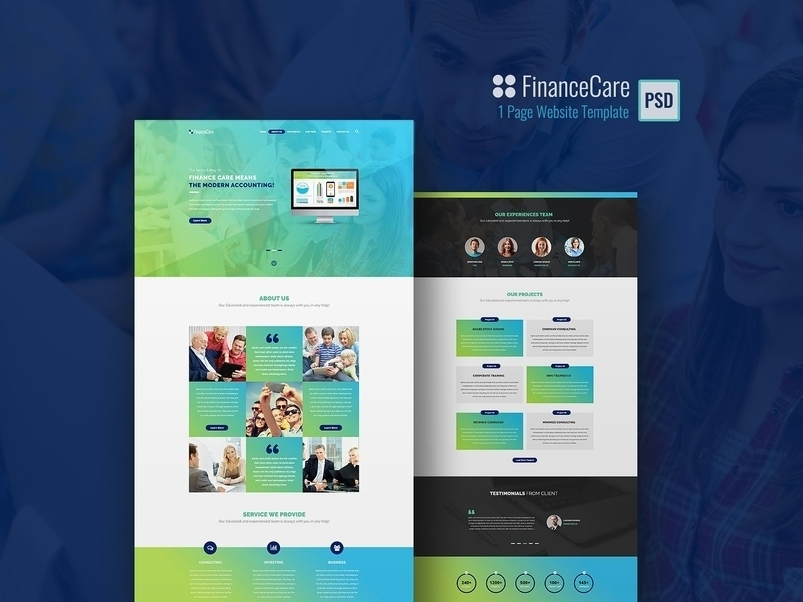 financecare-1-page-psd-template-2