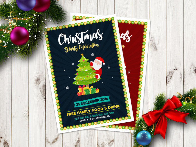 free-christmas-party-celebration-flyer-template-2