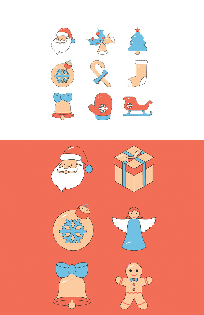 icon-set-christmas-18-items-2
