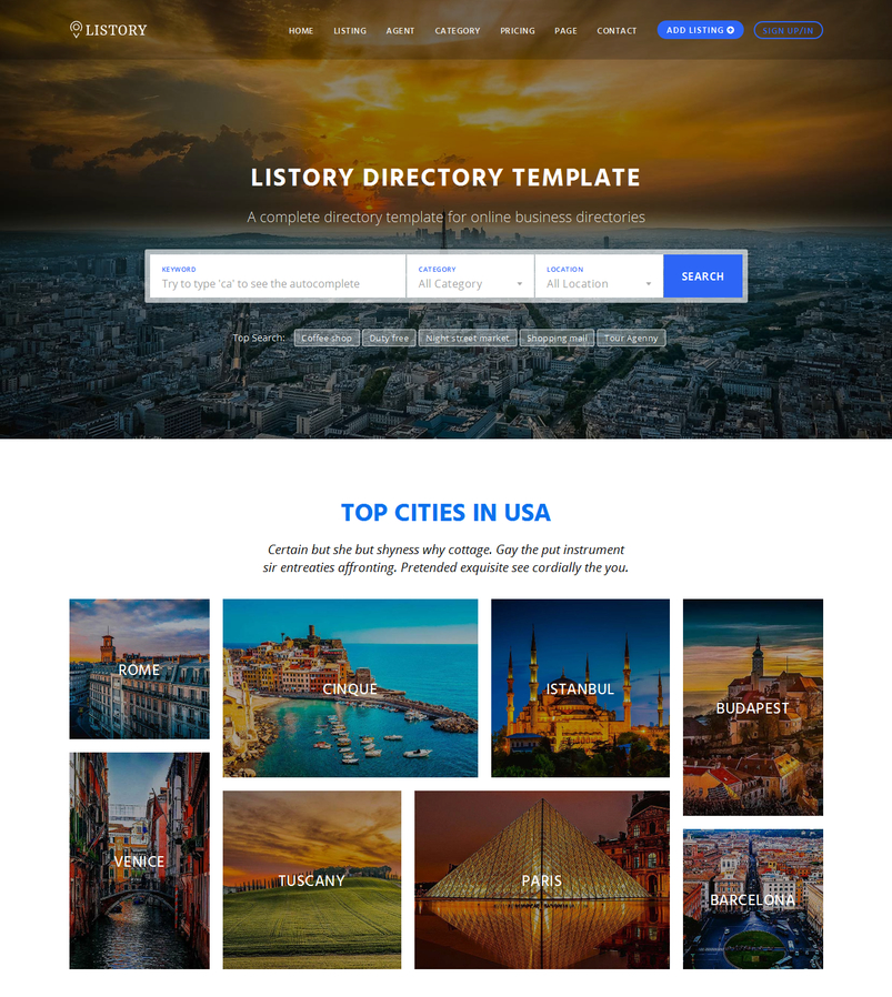 Template for directory ukrandiffusion latest html5 website templates 11 designazure com accmission Choice Image