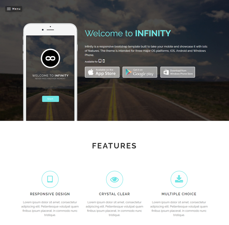 Latest HTML5 Website Templates #12 | Designazure.com