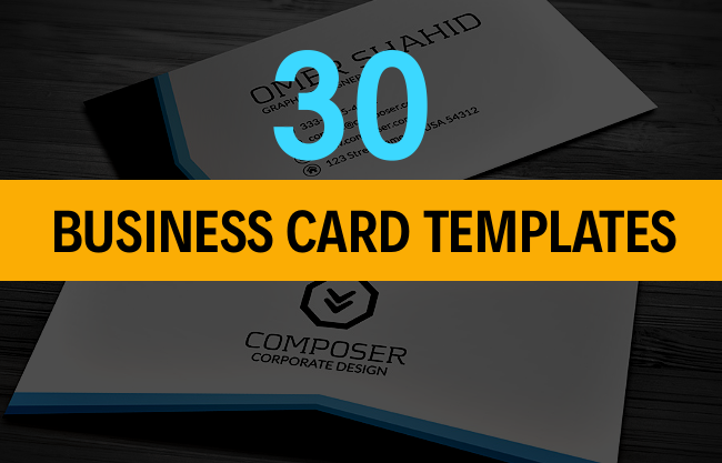 Best Stylish Business Card Templates Designazurecom - Best business card templates