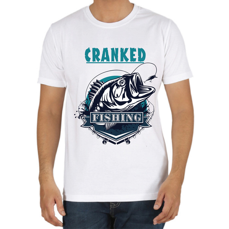 37 cool t shirt design examples for inspiration for Fishing shirt designs