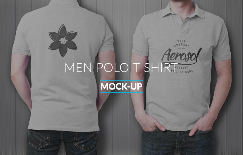 30 best polo shirt psd mockup templates for Free polo shirt mockup
