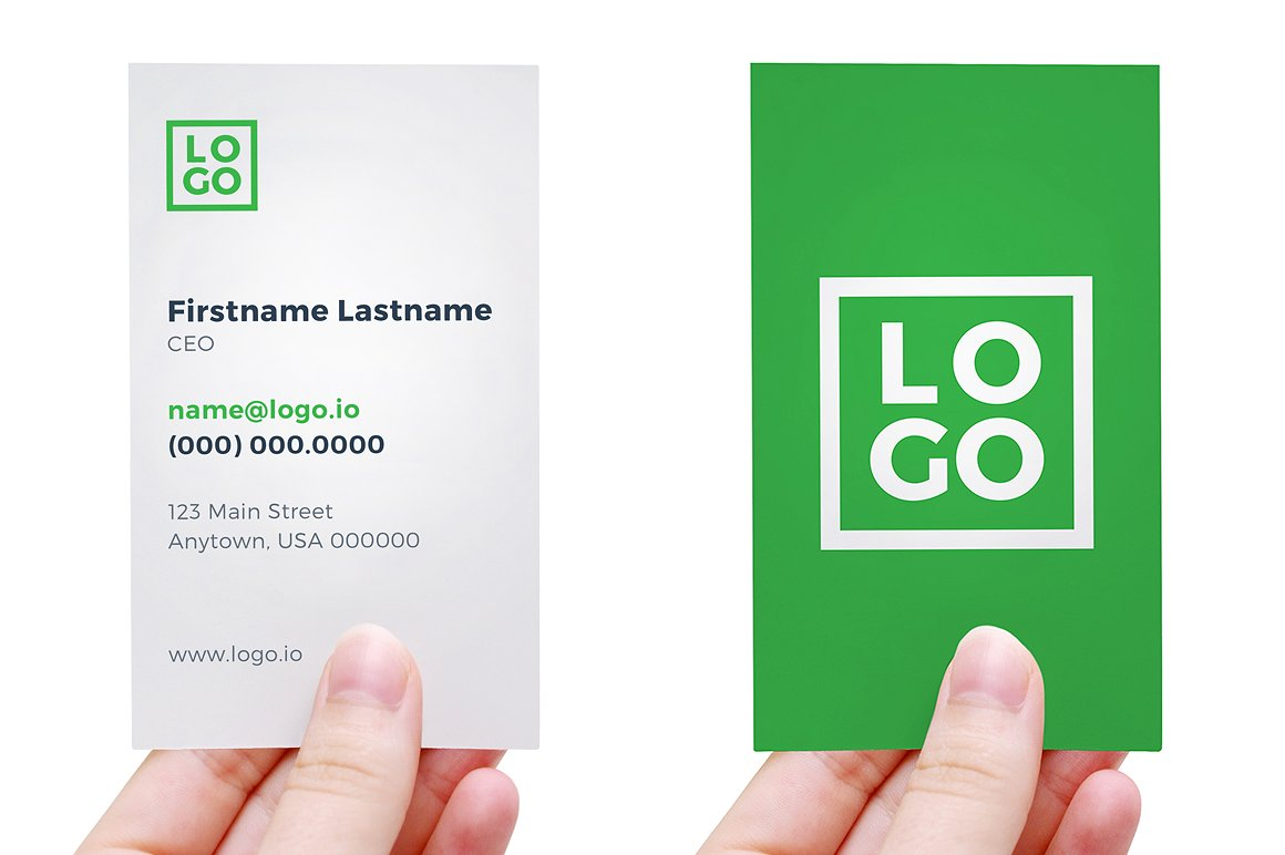 Business Green Card Usa Images - Free Business Cards
