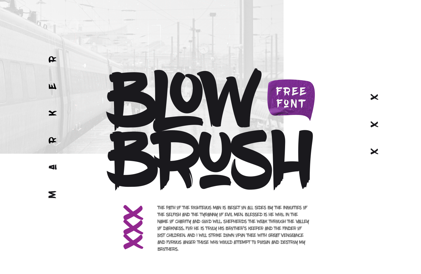 30 Best Graffiti Fonts For Cool Vibe Typography Projects