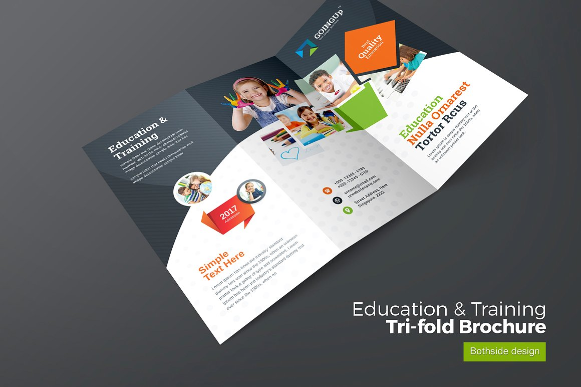 10 Best Education & Training Brochure Templates for ... |Brochure Design Education